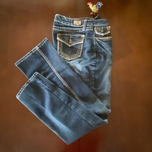 Rare Earl Jeans with whip stitch back pockets